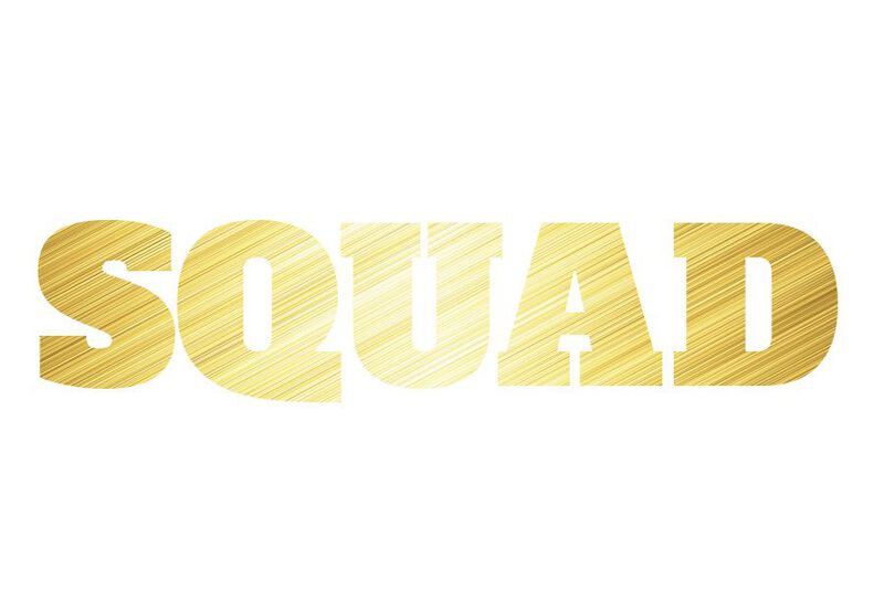 Metallic Squad Temporary Tattoo image number null