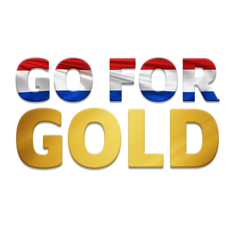 Go For Gold Netherlands Temporary Tattoo image number null