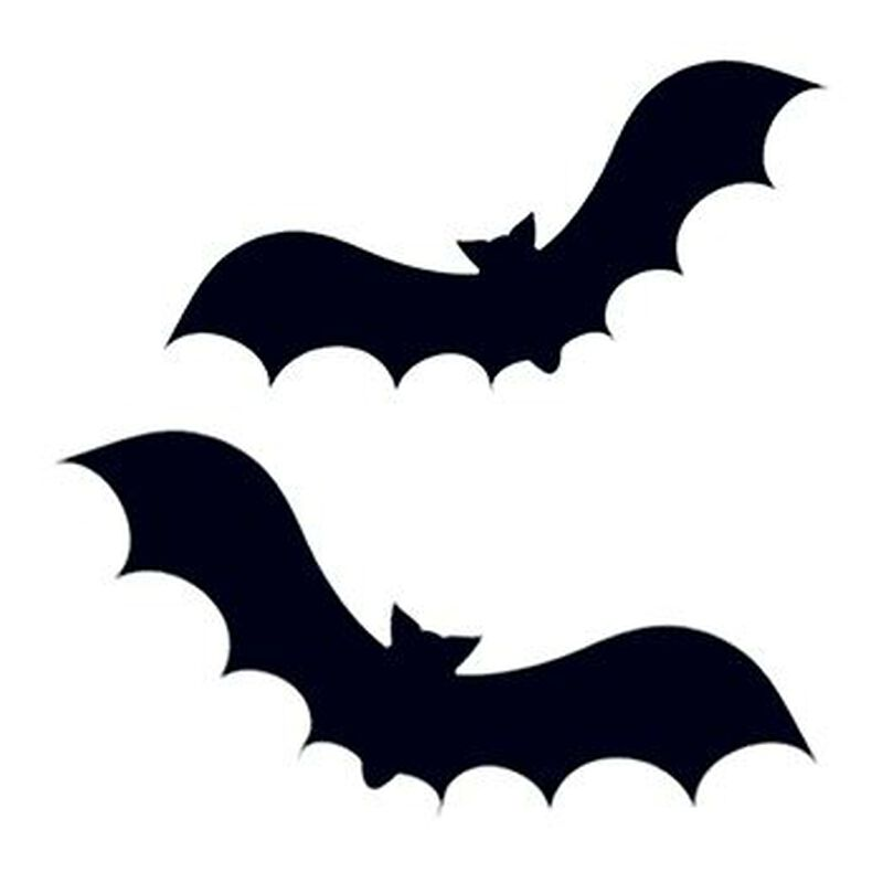 Two Bats Temporary Tattoo image number null