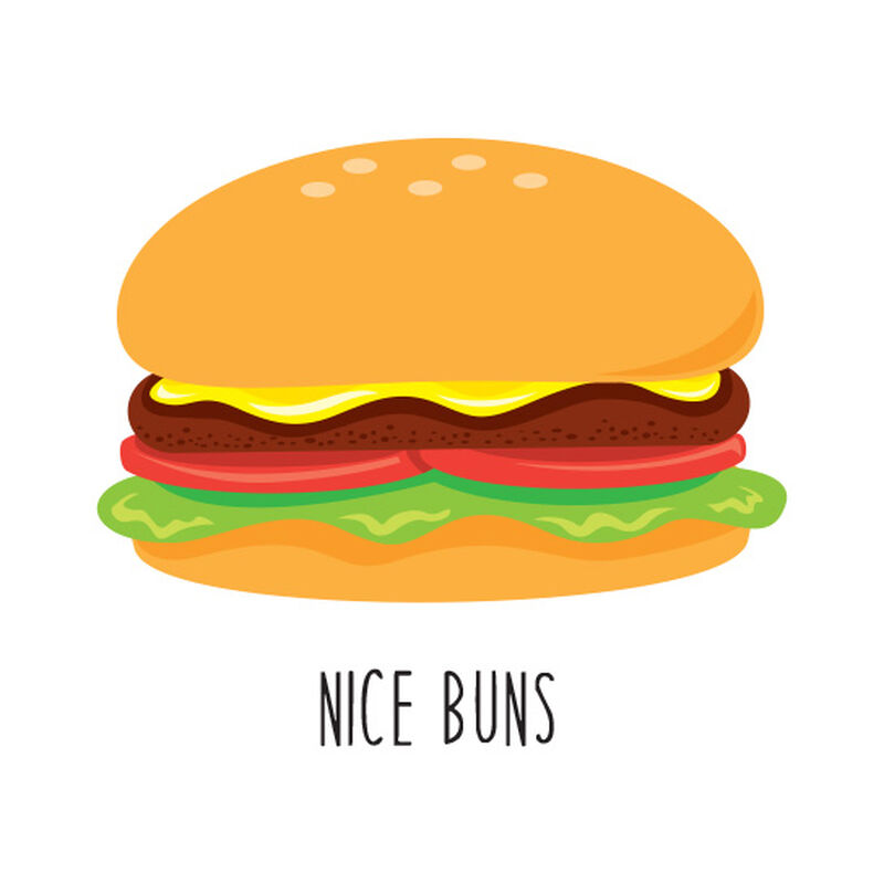 Nice Buns Temporary Tattoo image number null