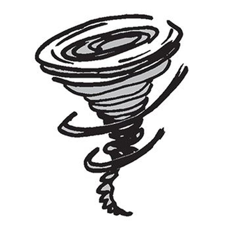 Whirling Tornado Temporary Tattoo image number null