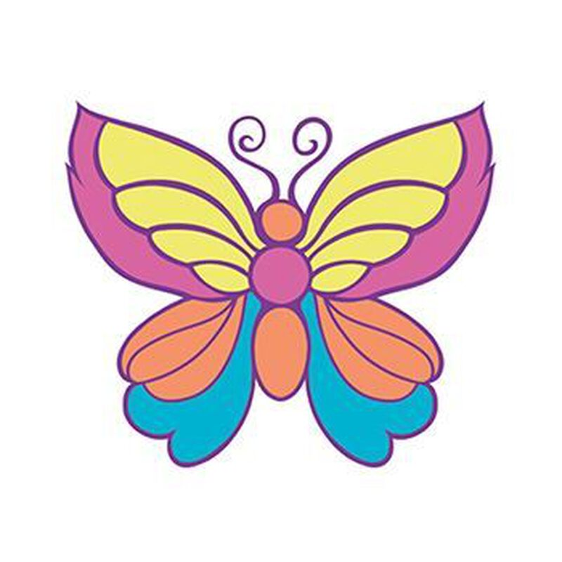 Small Butterfly Temporary Tattoo image number null