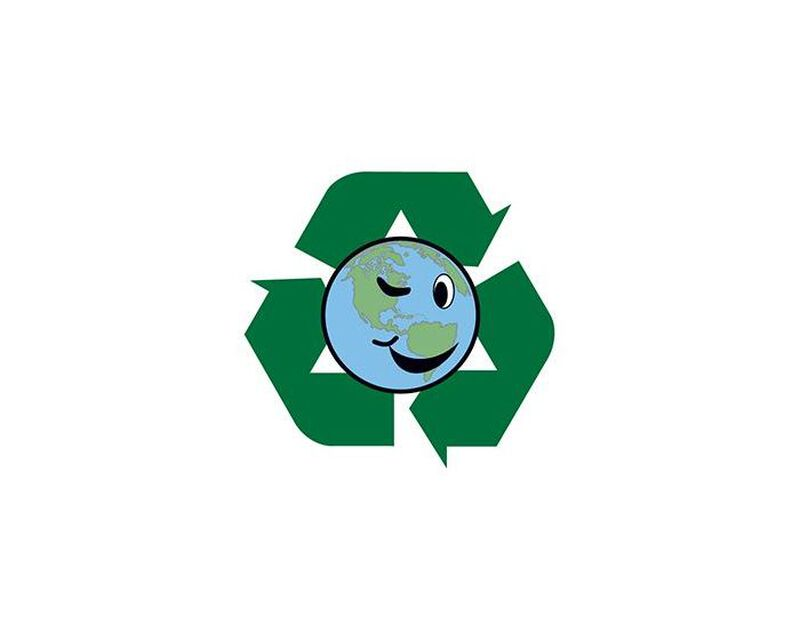 Recycle Earth Temporary Tattoo image number null