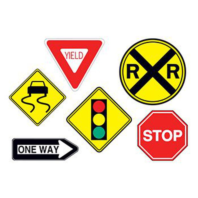Traffic Signs Temporary Tattoo image number null