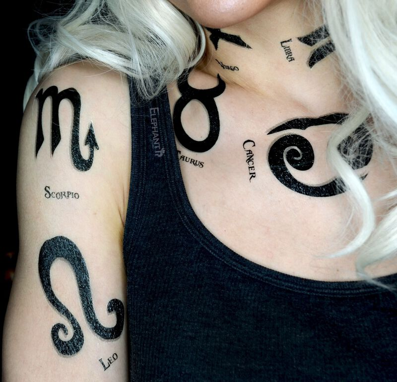 Zodiac: Leo Temporary Tattoo image number null