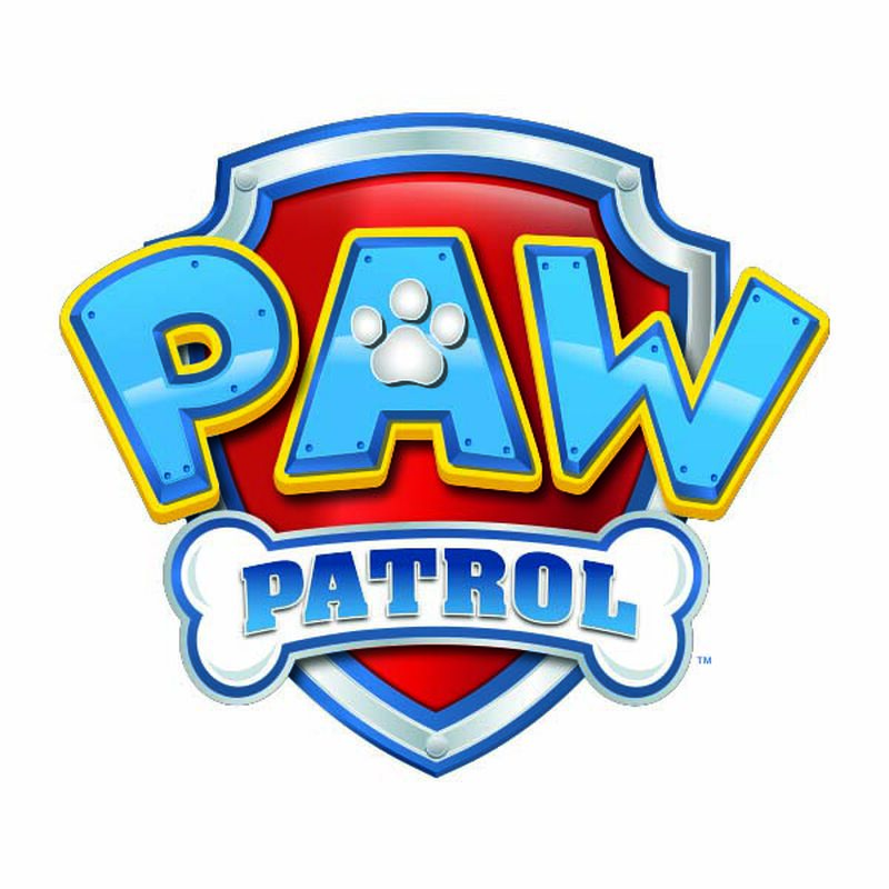 PAW Patrol Logo Temporary Tattoo image number null