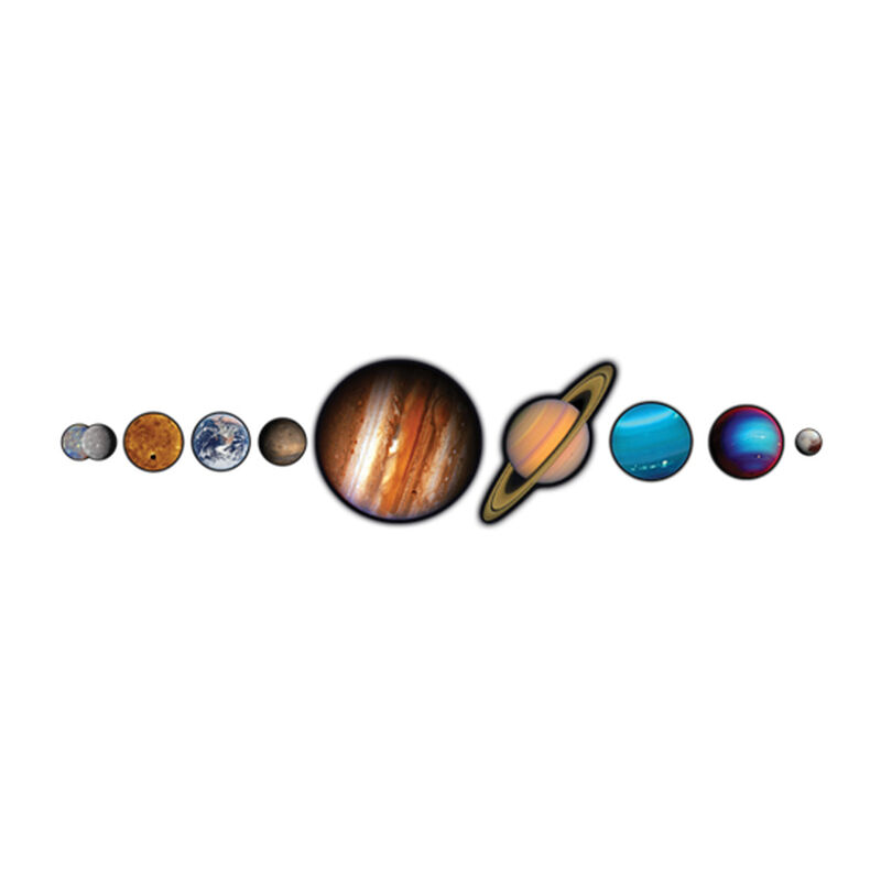 NASA Photo-Realistic Planets Temporary Tattoo image number null