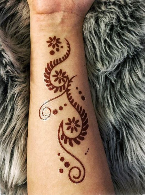Henna: Natural Temporary Tattoos image number null