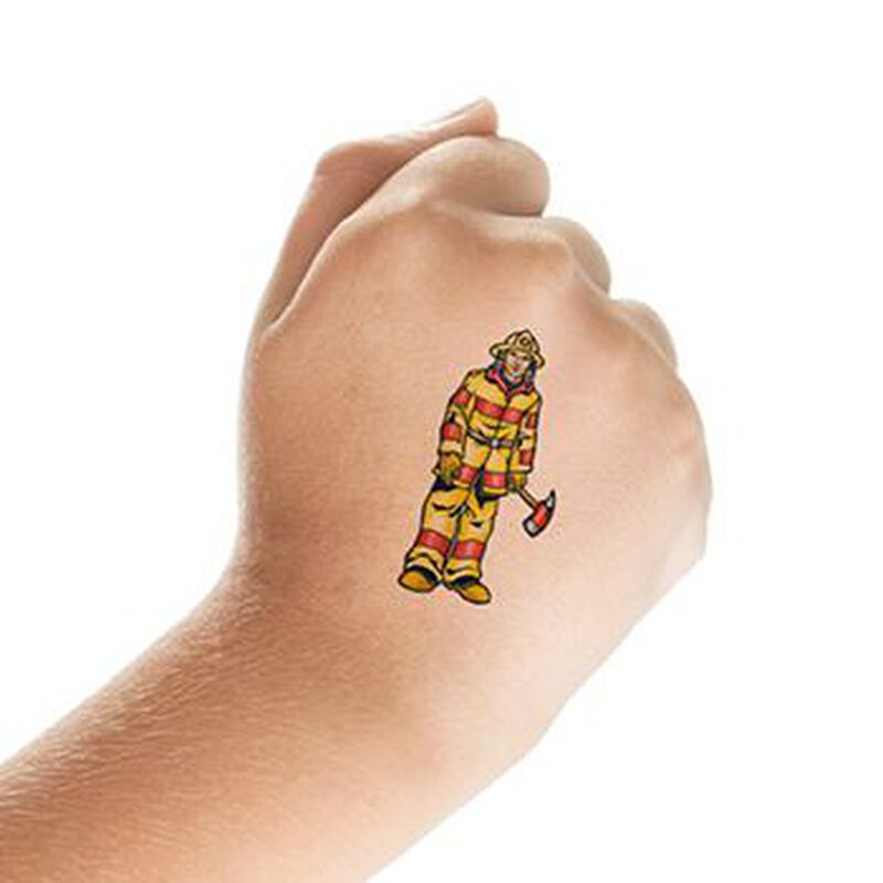 Fireman Temporary Tattoo image number null