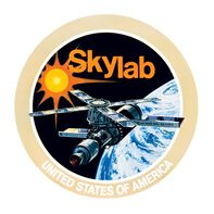 Sky Lab NASA Temporary Tattoo