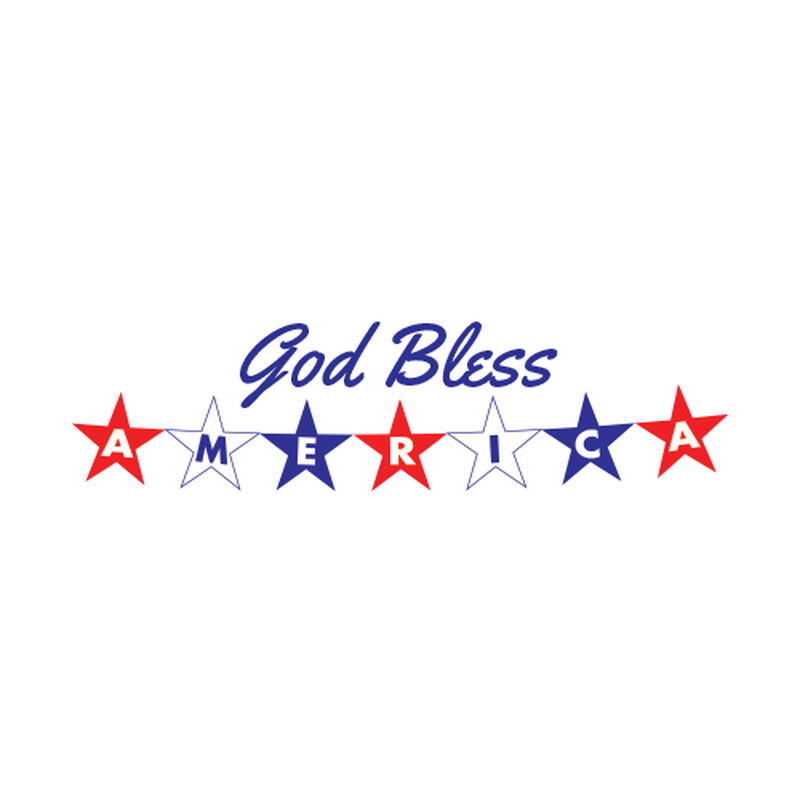 God Bless America Temporary Tattoo image number null