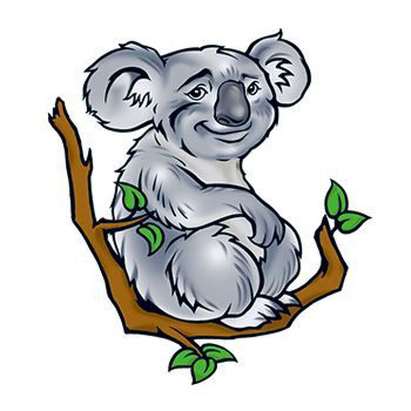 Koala Temporary Tattoo image number null