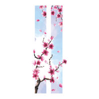 Cherry Blossom Frame Temporary Tattoo