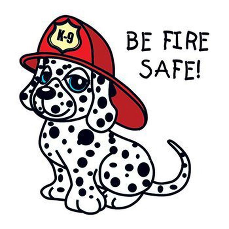 Be Fire Safe Temporary Tattoo image number null