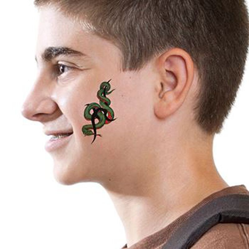 Tribal Snake Temporary Tattoo image number null