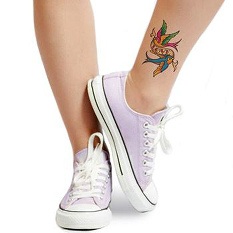 Classic Girls: Love Birds Temporary Tattoo image number null