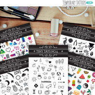 Tiny Tats Temporary Tattoos Pack
