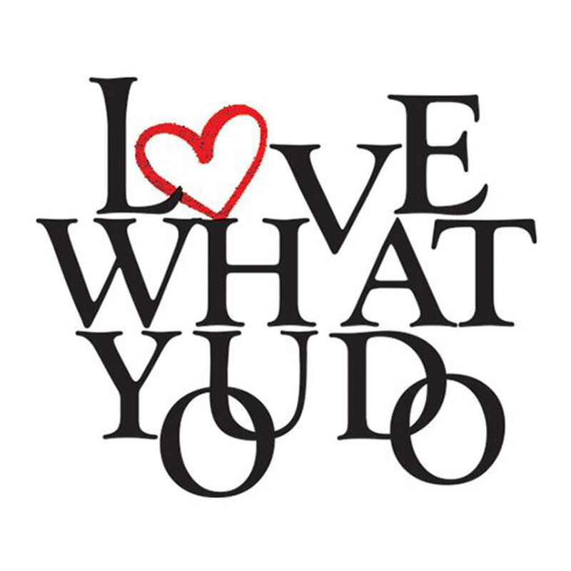 Love What You Do Metallic Temporary Tattoo image number null