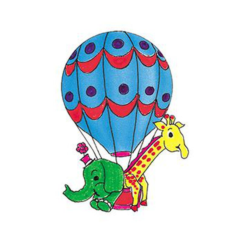 Hot Air Balloon Temporary Tattoo image number null