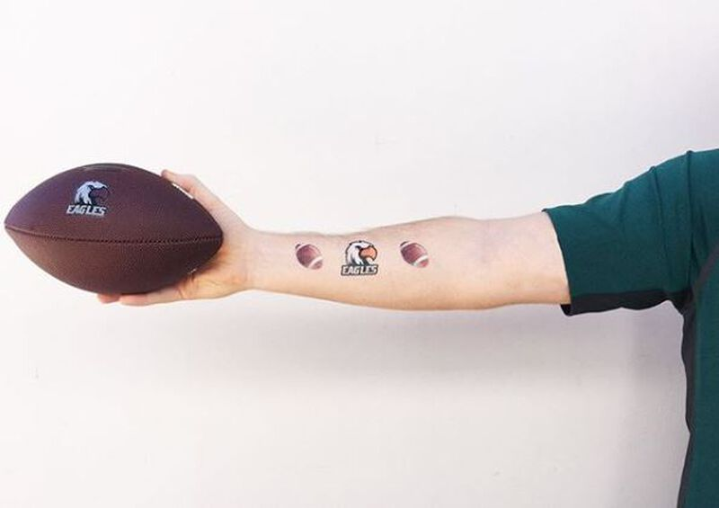 Eagles Temporary Tattoo image number null